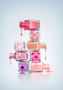 Nail Polish. Royalty Free Stock Photo