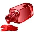 Nail polish. Royalty Free Stock Photo