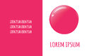 Nail polish drop trendy colors for beauty salon banners, web, materials design.