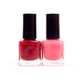 Nail polish two colors of Royalty Free Stock Photos