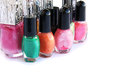 Nail polishes Royalty Free Stock Image