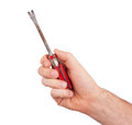 Nail puller isolated Royalty Free Stock Photo