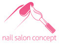 Nail Salon Concept Royalty Free Stock Photo