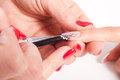 Nails decoration Royalty Free Stock Image