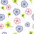 Naive floral pattern Royalty Free Stock Photo