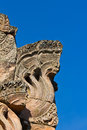 Naka sand stone castle Royalty Free Stock Photo