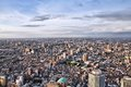 Nakano tokyo japan aerial view of district modern city Royalty Free Stock Photos