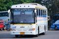 Nakhonchai没有航空公司的公共汽车 库存照片