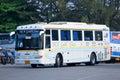 Nakhonchai没有航空公司的公共汽车 库存图片