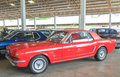 Nakornpathom thailand june american muscle car ford musta mustang in jesada technik museum on in Royalty Free Stock Photo
