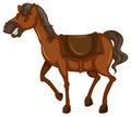Nakreślenie koń Obrazy Stock