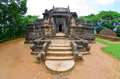 Nalanda gedige centre sri lanka old stone building used as place worship both buddhist hindus Royalty Free Stock Photography
