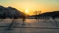 Nalychevo Nature Park At Sunrise