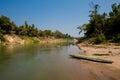 Nam Khan river Luang Prabang Royalty Free Stock Photo