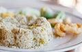 Nam-prick-num fried rice Royalty Free Stock Photo