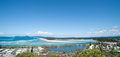 Nambucca panorama heads scenic new south wales australia Stock Image