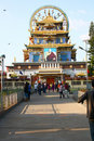 Namdroling Buddhist Monastery in India Stock Photo