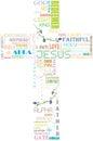 Name of God in Cross shape