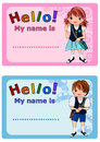 Name Tag for Kids