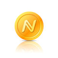 Namecoin symbol, icon, sign, emblem. Vector illustration.