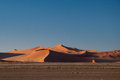 Namib desert in namibia sossusvlei Royalty Free Stock Photos