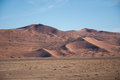 Namib desert in namibia sossusvlei Stock Photography