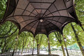 Nancy (France) - Gazebo in the park Stock Photo