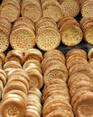 Nang traditional bread of xinjiang china it s famous food in a kind thick and hard pancake Stock Images