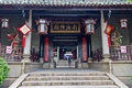 Nanhai God Temple Stock Images