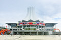 Naning convention and exhibition center the exterior of international nanning china nanning the capital city of guangxi is the Royalty Free Stock Photos