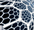 Nanotube molecule detail Stock Images
