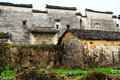 Nanping Village , a famous Huizhou type ancient architecture  in China Royalty Free Stock Photo