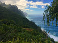 Napali Coast Royalty Free Stock Photo