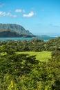napali coast kauai hawaii Royalty Free Stock Photo