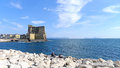 Naples, Castel dell'Ovo Stock Photos