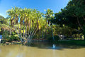 Naples - ZOO Biotope with Pool Royalty Free Stock Photo