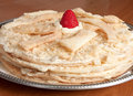 Napoleon Cake Royalty Free Stock Photo