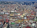 Napoli Panorama Royalty Free Stock Photo