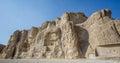 Naqsh-e Rustam necropolis by Perseopolis in Iran Royalty Free Stock Photo
