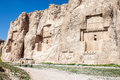 Naqsh e rustam tomb of persian kings in fars province iran Stock Image