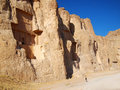 Naqsh e rustam tomb of persian kings in fars province iran Stock Photo