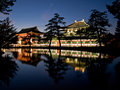 Nara Todaiji temple Royalty Free Stock Image