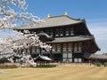 Nara Todaiji temple Stock Photography