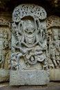 Narasimha avatar sculpture Royalty Free Stock Photo