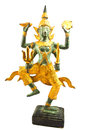 Narayana thai sculpture image of Royalty Free Stock Photo