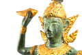 Narayana thai sculpture image of Royalty Free Stock Images