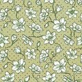 Narcissus floral pattern. Seamless design