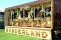 1908 Narenghi 98 key Show Organ Royalty Free Stock Photo