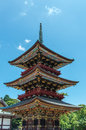 Narita-san Pagoda Royalty Free Stock Photo