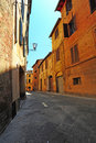 Narrow Alley Royalty Free Stock Photography